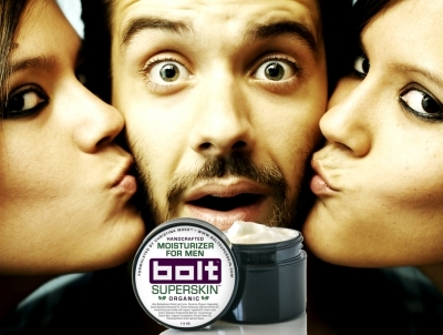 Bolt Superskin Moisturizer.