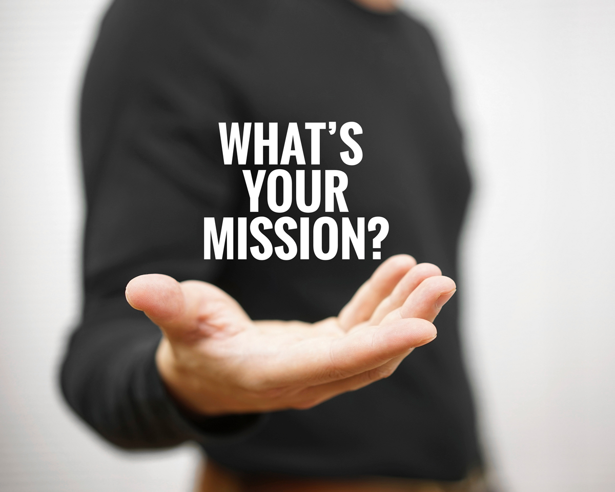 What's your mission for business? Do you inspire others?